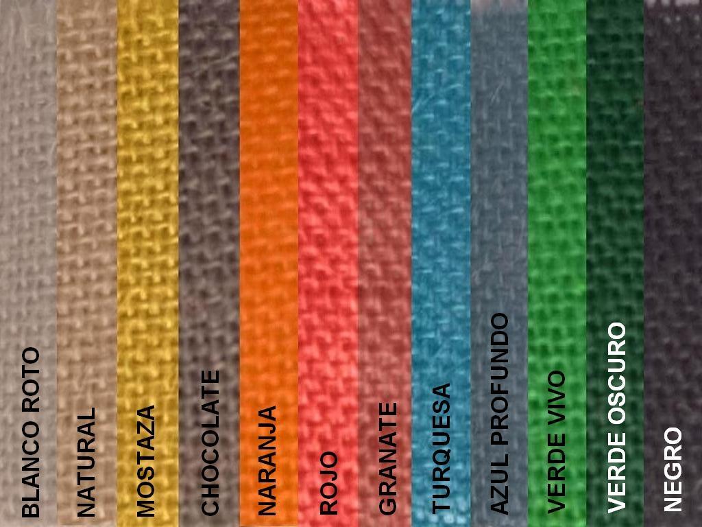 f18877083 Venta por rollos: Arpillera / Tejido saco Varios colores