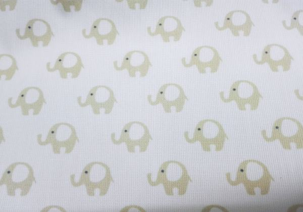 Piqué Elefantes BEIGE