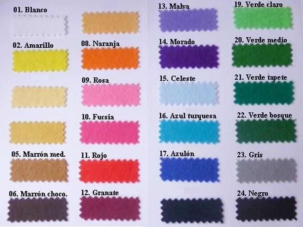 FIELTRO  todos los colores